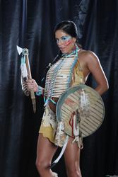 Mikayla Mendez as seductive Native Indian babe: image 1