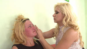Hunt Erotic: Faceslapping -By Domina Lea Lexis And Her Slave Gina
